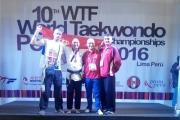 Медаља са 10. светског првенства у формама - Лима - Перу
